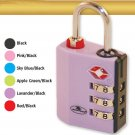 TSA Approved 3 Dial Combination Indicator Lock