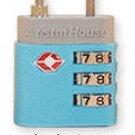 TSA Approved 3 Dial Combination Lock