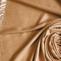 Pashmina Style (Camel color) Shawl - 100% Viscose