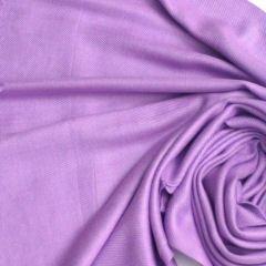 Pashmina Style, 100% Viscose Shawl - Light Purple