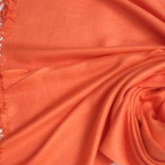 Pashmina Style, 100% Viscose Shawl - Orange