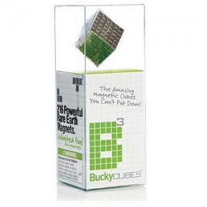 Buckycubes Nickel 216 Piece Magnetic Toy - Rare Earth Magnets - Buckyballs
