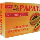 RDL PAPAYA Whitening Soap + Sunscreen with Vitamin A, C & E for all skin types