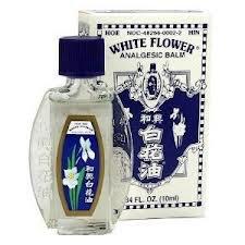 2 x Hoe Hin White Flower Embrocation Oil (2 x 20ml)