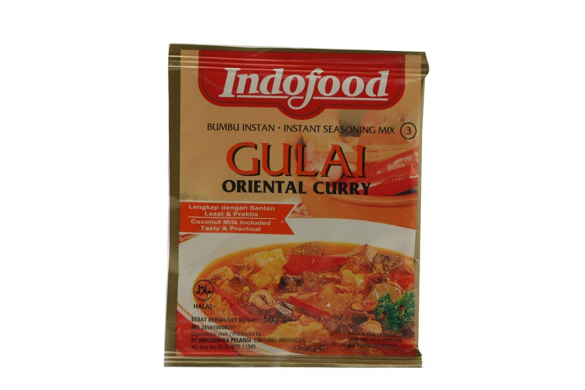 Indofood Gulai (Oriental Curry) Seasoning Mix, Set Of 2 Sachets