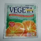 Vegeta Natural Fiber Supplement Drink Pack Of 12 Sachets, Orange Flavor