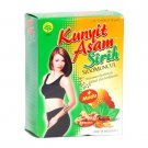 Kunyit Asam Sirih, Tumeric Drink With Honey and Betel Leaves Extract 2 Boxes @5 Sachets