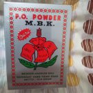 MBK Powder, Removes Body odors, 1 Box or 12 Sachets @13.6g (New Fragrance)
