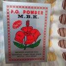 MBK Powder, Removes Body odors, 1 Box or 12 Sachets @13.6g (New Fragrance)