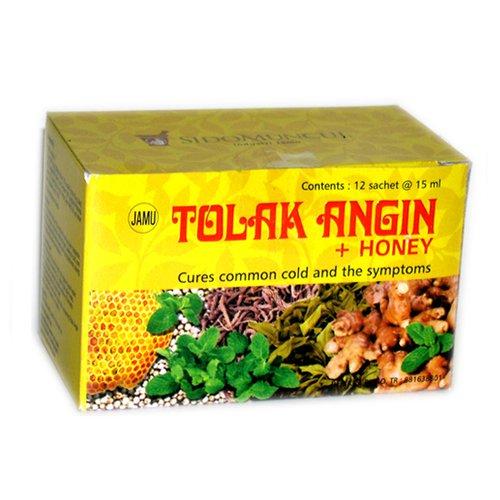 Sido Muncul Tolak Angin Herbal Supplement With Honey