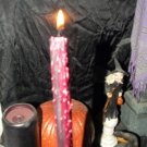 Red Blood Drip Taper Candles NEW 10""