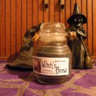 Witch&#39;s Brew Candle Jar Wicca Pagan Magic Voodoo Soy