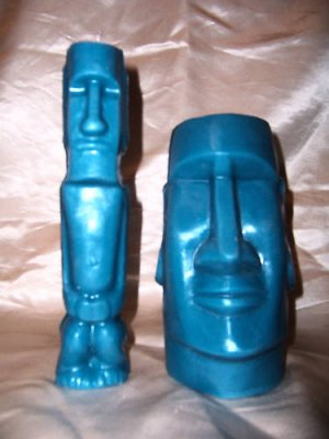 Polynesian Tiki God Candle Wicca Pagan Magic