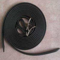 Split Style Reins 3/4 Inch Beta Biothane  Black