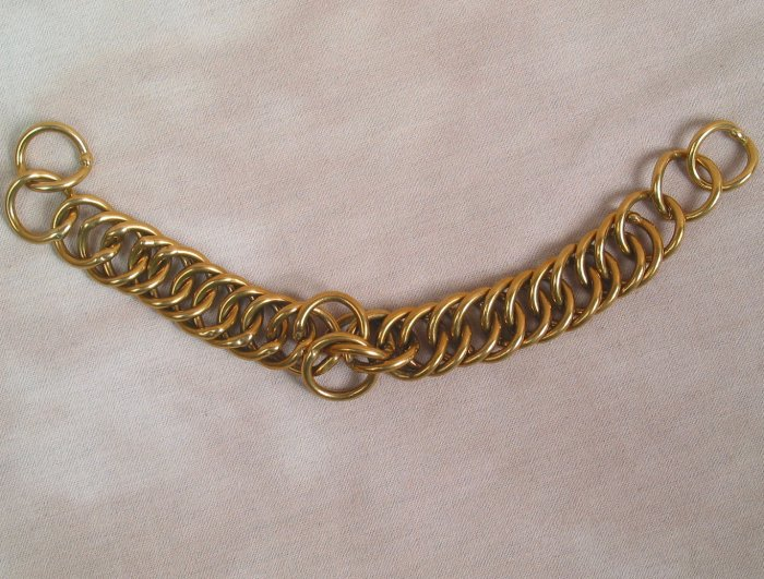 English Curb Chain Solid Brass