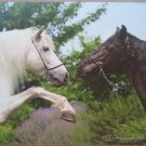 Andalusian Horses Mouse Pad