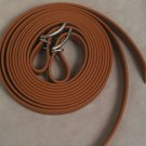 "Split Style Reins 3/4"" Heavy Weight Beta Biothane Tan"