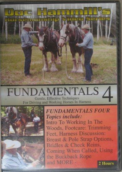 Doc Hammill's Horsemanship Video Series Fundamentals 4 - DVD