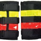 Vis Equips Reflective Riding Leg Wraps