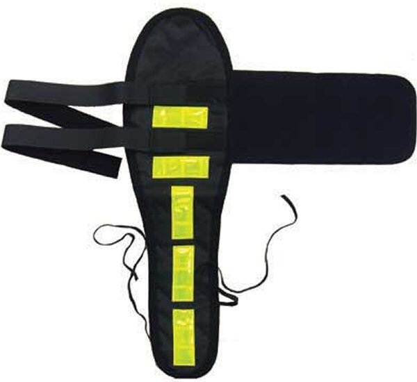 Vis Equips Reflective Riding Tail Guard Yellow