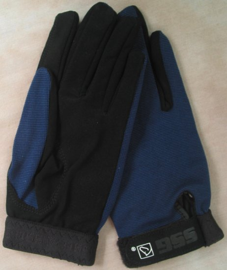 SSG All Weather Riding Glove - Navy Men's Large