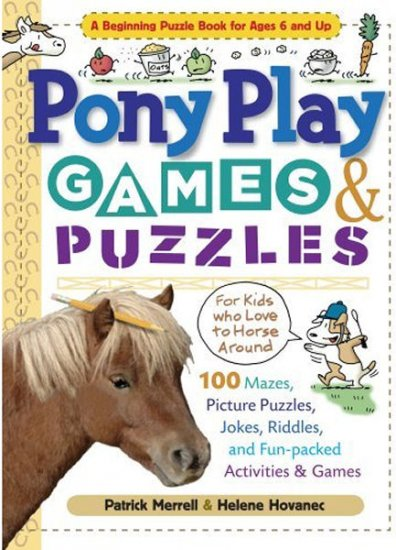 Pony Play Games & Puzzles Soft Cover Book