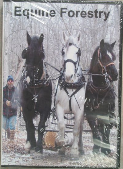 Equine Forestry featuring Tim Carroll - DVD
