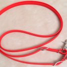 Beta Biothane Roper Reins 8 Foot, 5/8 Inch Red 2 Snap