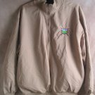 Wedge Embroidered Golf Crest Khaki Medium Jacket