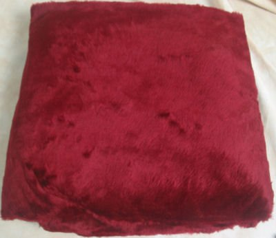 Horse Driving Lap Robe Burgundy
