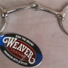 O Ring Snaffle Bit Horse Size 5 Inch Stainless Steel