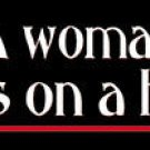 A Woman's Place Bumper Sticker