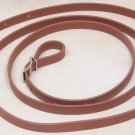 Beta Biothane Roper Reins 8 Foot, 5/8 Inch Brown, 1 Snap