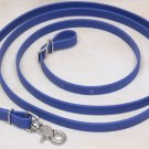 Beta Biothane Roper Reins 8 Foot, 5/8 Inch Royal Blue, 1 Snap