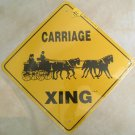 Carriage Four In Hand Horses Xing Sign