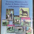 Training Miniatures for Halter & Halter Obstacle with Joanne Ross