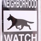 German Shepherd Yard Sign