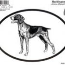 German Shorthair Dog Oval Decal