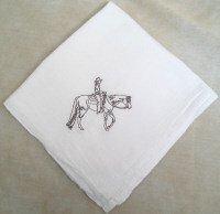 Western Pleasure Flour Sack Dish Towel