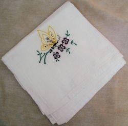 Butterfly Flour Sack Dish Towel