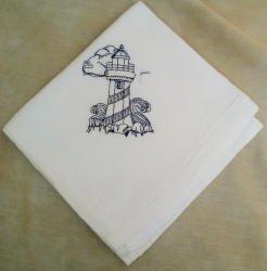 Lighthouse Flour Sack Dish Towel
