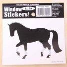 Dressage Horse Window Sticker Decal