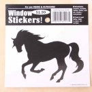 Cantering Horse Window Sticker Decal