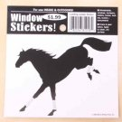 Jumping Horse Landing Window Sticker Decal