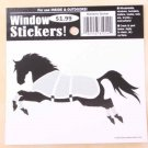 Horse with Blanket Window Sticker Decal