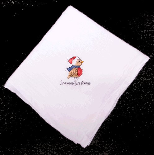 Season Tweetings Bird Flour Sack Dish Towel