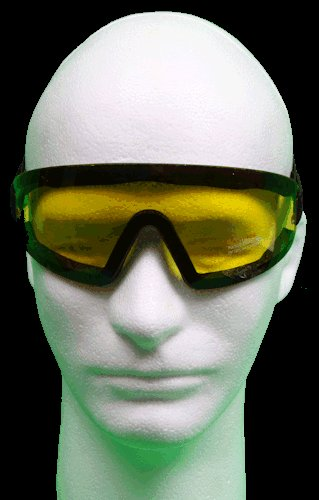Riding / Driving Protective Goggles - Yellow