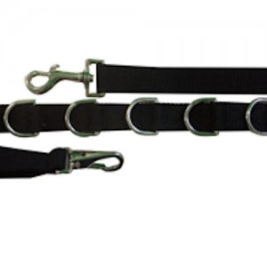 "Split Style Reins 3/4"" Heavy Weight Beta Biothane Light Green"