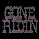 Rustic Metal Gone Ridin! Magnet