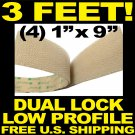$4.49 3M Dual Lock Low Profile Reclosable Fastener SJ4570 Clear Velcro Hook and Loop U.S. SHIPS FREE